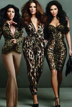 Hate them if you want....these girl be dressing they butts off (and you know Kim's...never mind lol)