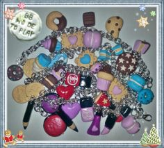 braccialetti charms by Barbara Buceti BB Mode To Play