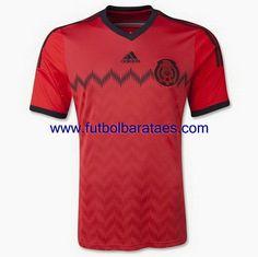 Nueva camiseta de mexico 2nd 2014-2016 baratas