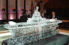 Ice Carvings and Ice Art - Ice Sculpture Designs