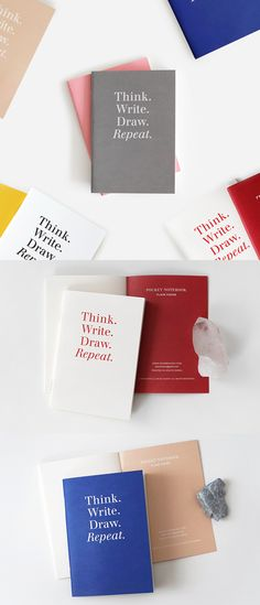 If you need to be always ready to write your ideas or important memos, the Colorful Pocket Notebook Set is just for you!