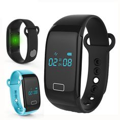 A display on the heart rate wristband JW018 ,It's more convenient to look at the time, heart rate and so on.IP65 Waterproof Protect JW018 from water.
