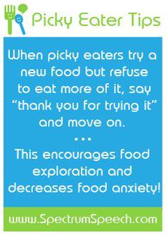 Feeding a Picky Eater.   #charlottepediatricclinic