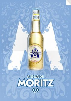 Welcome to the Moritz Beer website. Could you imagine life without beer? Moritz, the first beer in Barcelona since Barcelona, Ipa, Beer Bottle, Graphic Design, Chocolate, Drinks, Shirt, Ale, Event Posters