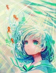 water anime