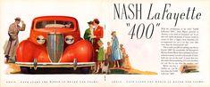 1937 Nash LaFayette coupe
