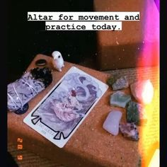 You can create many types of altars, not just Ancestral Altars! 😁 Check out our 'Creating Different Altars Master Class' 📚 to learn all about building and placing intentions on your altars!✔️ #SHOP for Spiritual/Metaphysical Master Classes! 🛍️ 🔗Link In Bio #altars #ancestoraltars #rootwork #tarotreadersofinstagram #conjure #ritual #tarot #ancestors #manifest #blackgirlmagic #spirituality #manifestation #spiritual #crystals #conjurewomancircle