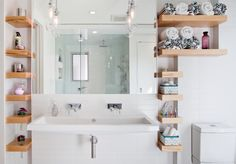 Space-Saving Products for Your Small Bathroom - http://freshome.com/small-bathroom-space-saving-products/