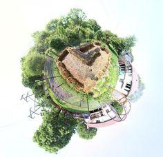 Virtual Tour of the Straw Bale Garden of Dan330