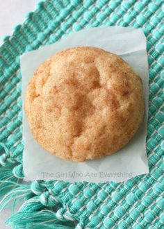 The Best Snickerdoodle Cookie Recipe - www.the-girl-who-ate-everything.com #cookies #desserts