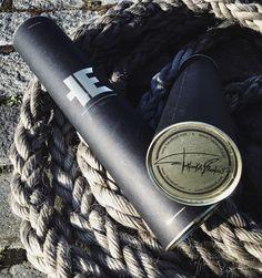 Упаковка тубус для тату-принтов Binoculars, Leather