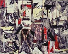 Drawing With Charcoal Lee Krasner Untitled, A painting from 1950 was collaged with charcoal drawing fragments to create a new composition. Abstract Expressionism Art, Abstract Art, Abstract Shapes, Lee Krasner, Black And White Abstract, White Art, Drip Painting, Art Programs, Jackson Pollock