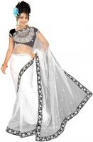 Bollywood Saree Self Design Bollywood Net Sari