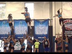 Cheer Extreme Senior Elite Ball Up I love this! Cheerleading Videos, Cheer Stunts, Cheer Routines, Cheer Extreme, Cheer Picture Poses, Cheer Pictures, Big Bows, 30 Seconds, Gymnastics