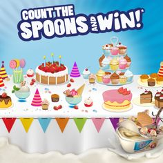 Zucchini Noodles, Theatres, Spoons, Count, Birthday Cake, Ice Cream, How To Apply, Movie, Draw