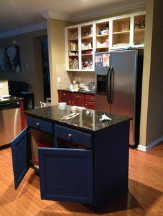 DIY Annie Sloan Kitchen Redo www.frenchfriesandfrosting.com