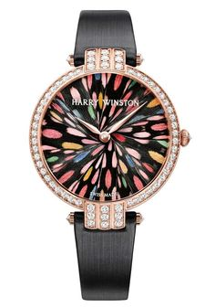 This limited edition #watch of 8 pieces has been created to celebrate the opening of @Harpreet Singh Winston new retail Salon in #Geneva.