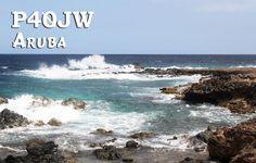 P40DX et P40JW sur l'île Aruba