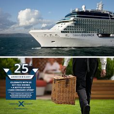 Star Buy #CelebrityEquinox Greece & Turkey sailing from ONLY £699pp – Plus take advantage of the #CelebrityCruises 25th Anniversary offer applicable on this sailing*  (11th July 2015, 7 nights, Athens sailing, *T&Cs apply)