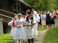 Kysucká svadba v skanzene vo Vychylovke - Slovakia.travel