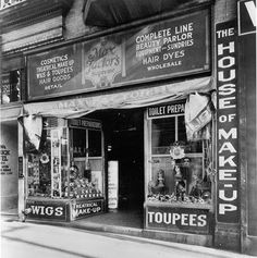 Max Factor's Los Angeles Shop on Hill Street in Los Angeles