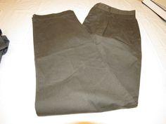 Henry Cotton's Mens W 38 L 36 slacks casual pants dark grey NWOT# #HenryCottons #CasualPants