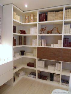 Libreria angolare in anta in pietra Wall Landscape - DIOTTI A&F Arredamenti
