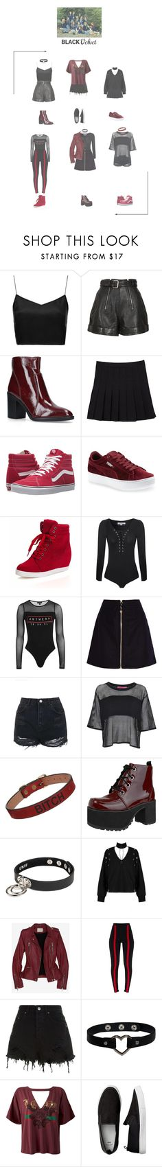 """(2/2) BlackVelvet Mercury Entertaintment audition."" by blackvelvetofficial ❤ liked on Polyvore featuring Boutique, Carven, Kurt Geiger, Vans, Puma, Glamorous, Topshop, Acne Studios, Boohoo and Saddlers Union"