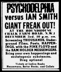 Psychodelphia vs Ian Smith, Pink Floyd, 1966-12-03