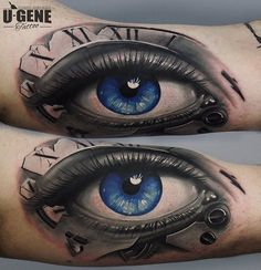 The Best 3D Eye Tattoos
