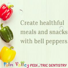 When creating meals that are healthy for your teeth and body, seasonal produce can be a delicious addition to your diet. Next time you are shopping for groceries, consider picking up some bell peppers. Although you can get bell peppers year-round, they are often in their peak growing season until the end of September. Bell peppers also are high in vitamin C, which is great for the health of your gums and teeth. Do you have any go-to bell pepper recipes? Share them with us!