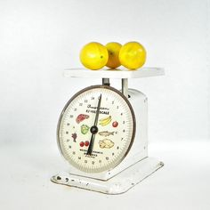 Vintage Kitchen Scale Rusty Farm House Scale by OldRedHenVintage