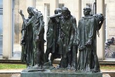 The Burghers of Calais by Auguste Rodin, Musée Rodin, rue de Varenne, Paris Auguste Rodin, Ap Art History 250, Rodin Museum, Sculptures, Lion Sculpture, Desert Island, Paris Photos, Prehistory, Famous Artists
