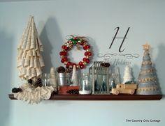 My Christmas Mantle (mantel)