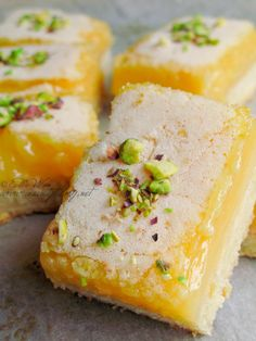 // lemon bars