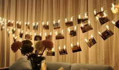 30 LED Photo Clip String Lights, Battery Powered Warm White Indoor Fairy String Lights for Hanging Photos Pictures, Cards and Memos LED) Led Garland, Light Garland, Ole Miss Dorm Rooms, Dorm Decorations, Wedding Decorations, Glow Party Supplies, Starry Lights, Led String Lights, Hanging Pictures