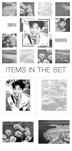 """""""🌸 ~ Lucy // Jooyoung Feat. Chancellor ~ 🌸"""" by xxjay-gxx ❤ liked on Polyvore featuring art, moodboard, bts, jimin and BTS_Jimin"""