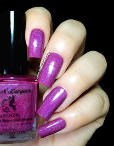 Fashion Polish: FUN Lacquer Princess Collection 2.0 : new and improved re-edition! Rapunzel
