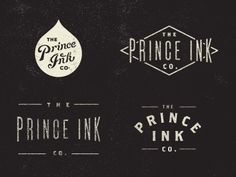 Vintage Branding Vintage style logo designs Calligraphy Fonts Uppercase type to stand out