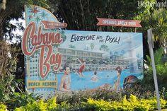 Retro billboard at the corner of Turkey Lake Road and Hollywood Way in Orlando