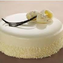 Výsledok vyhľadávania obrázkov pre dopyt poleva biele čokoláda Vanilla Cake, Desserts, Food, Tailgate Desserts, Deserts, Essen, Dessert, Yemek, Food Deserts