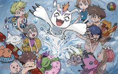 Digimon Frontier, Digimon Tamers, Digimon Adventure, All Art, Cute Art, Pokemon, Romantic, Manga, Drawings