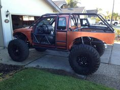Tacoma truggy, built 1 tons, - : and Off-Road Forum Toyota 4x4, Toyota 4runner, Toyota Tacoma, 4 4 Jeep, Jeep 4x4, Trailers For Sale, Ford Explorer, Custom Trucks, Offroad