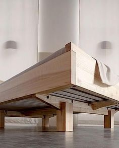 Diy bed frame Diy bed Woodworking furniture Bed Bed frame plans Wood beds - Metalfree bed in the ash ash bed Metalfree woodworking - Diy Furniture Plans, Pallet Furniture, Furniture Projects, Bedroom Furniture, Furniture Design, Bedroom Bed, Bedroom Ideas, Furniture Nyc, Furniture Online