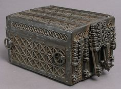 Coffer, 15th century, French