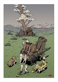 Tokyo trip illustrations by Ilya Kazakov Tokyo Travel, Tokyo Trip, Branding Design, Animation, Behance, Illustrations, Moscow, Painting, Fictional Characters