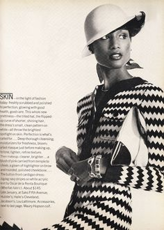 January 1973, Beverly Johnson by Penn.