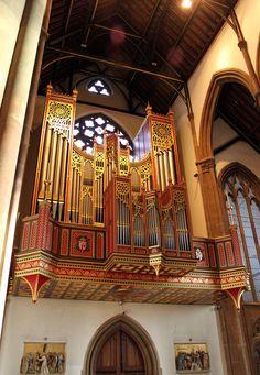 The organ ~ St. Chad's