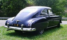 1950 Chevrolet Fastback- I've always wanted to ride in one of these bad boys