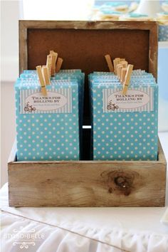adorable baby shower favors via @styled by belle